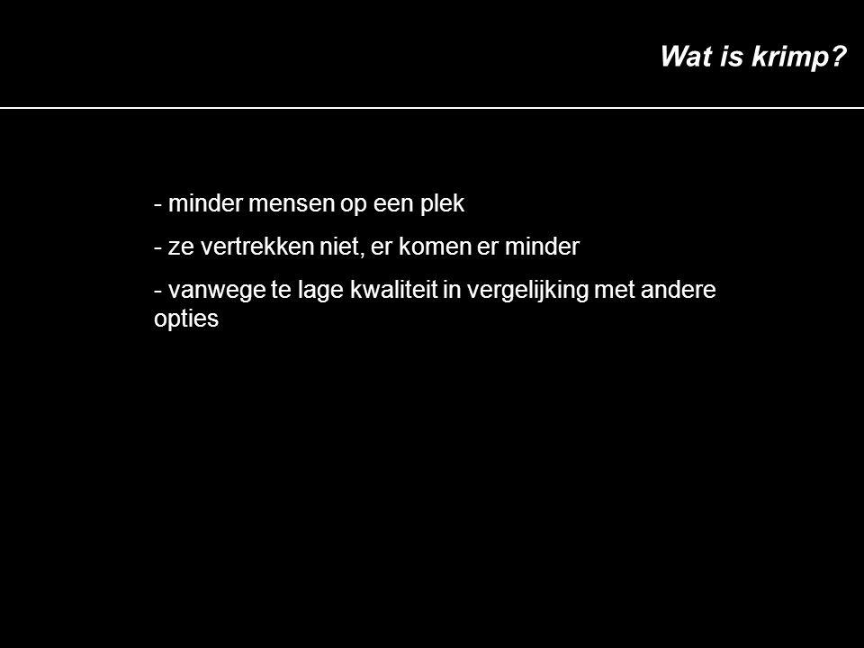 Agenda Wat is groei.