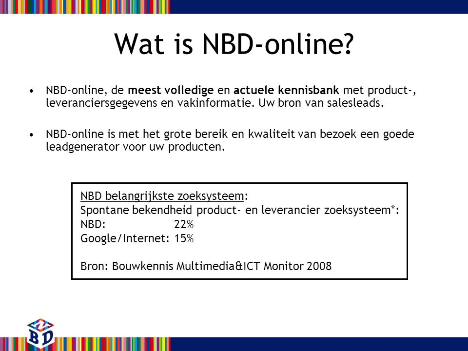 Wat is NBD-online.