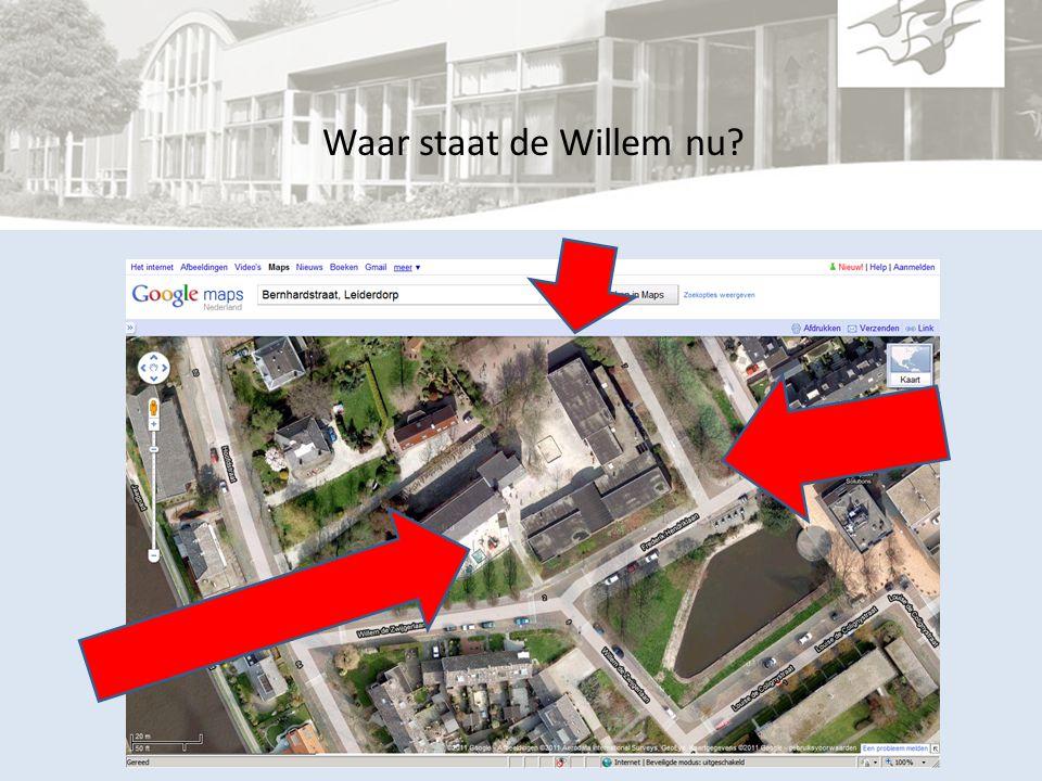 Waar staat de Willem nu?