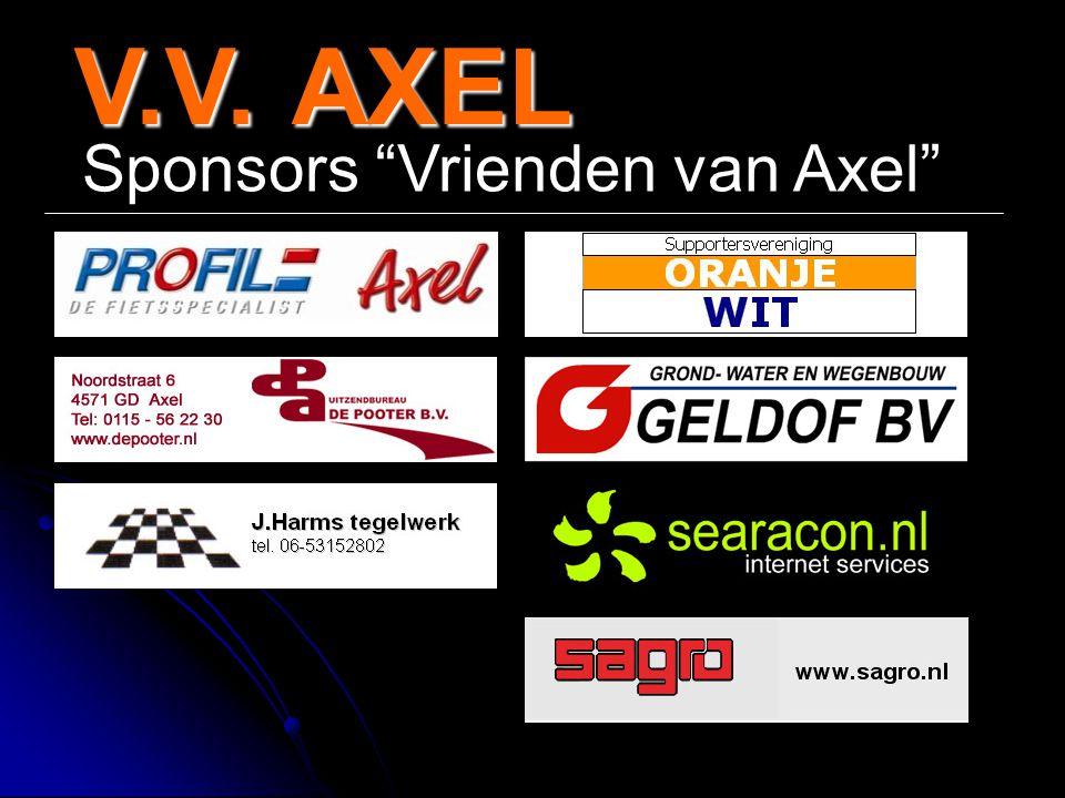 V.V.AXEL V.V. AXEL Sponsors Vrienden van Axel