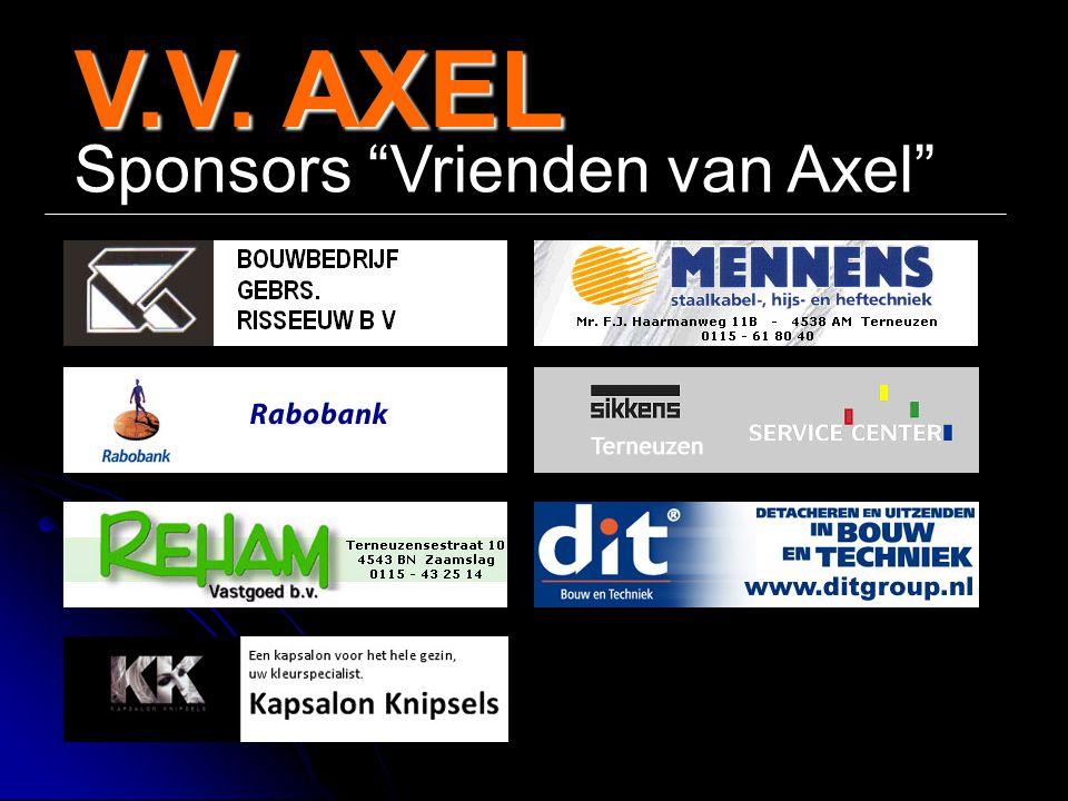 V.V. AXEL Sponsors Vrienden van Axel