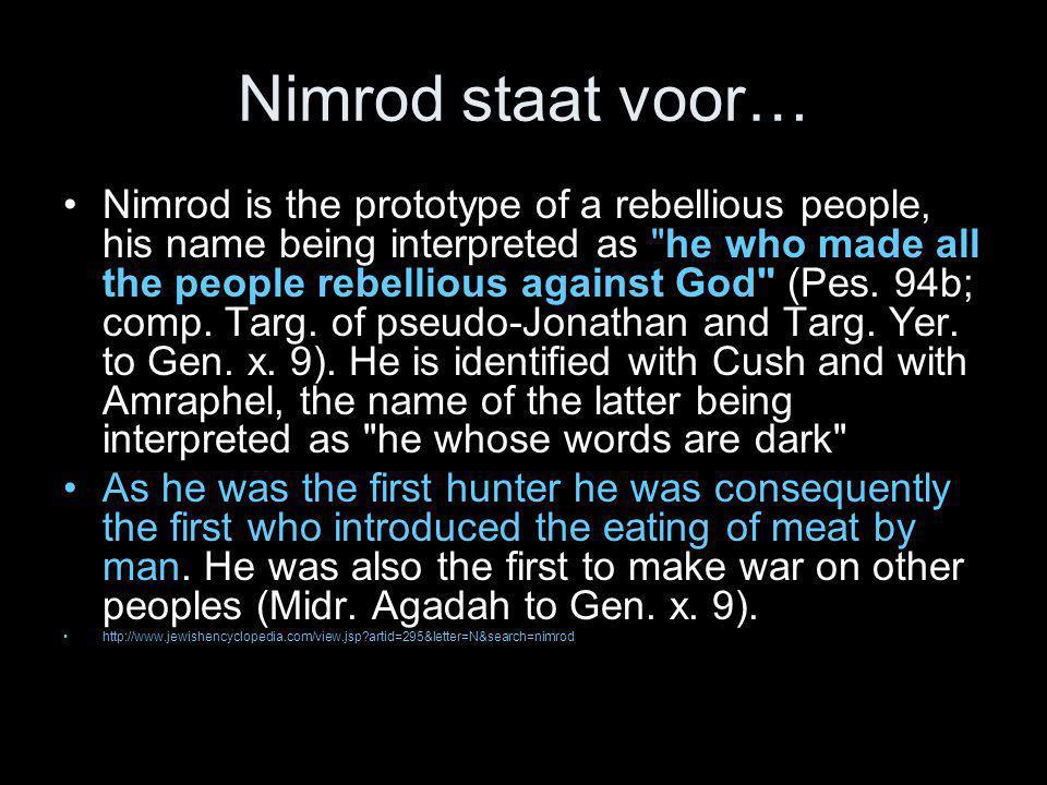Hoe Kores, Babel vernederde •In 550 v.Chr.