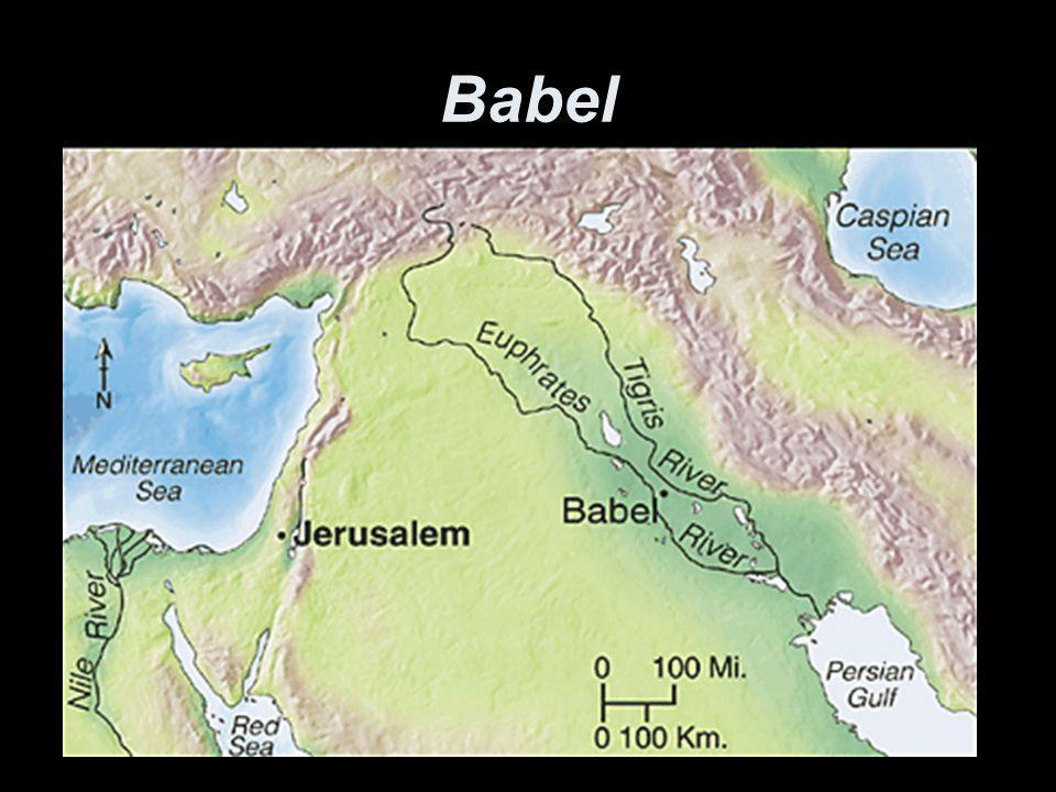 Openbaring 14:8 zegt •Verlaat de verwarring… •Net zoals God Babel verwarde met spraak, zodat hun streven werd gestaakt.