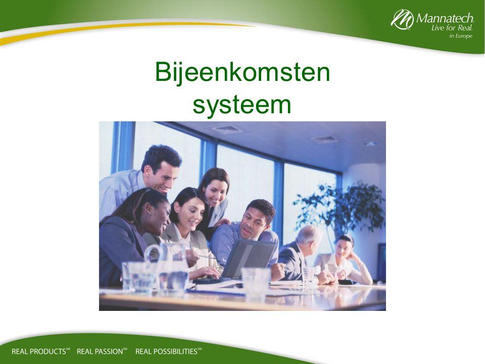 Waarom zijn bijeenkomsten zo belangrijk.•De bijeenkomsten zijn het levensbloed van uw bedrijf.