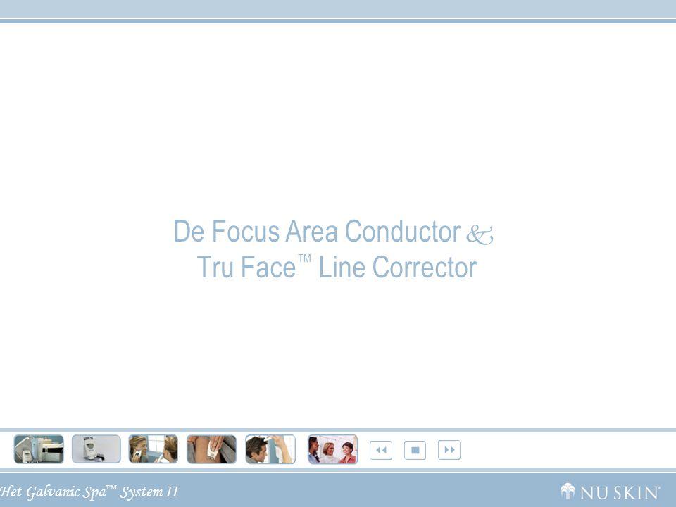 Het Galvanic Spa ™ System II De Focus Area Conductor  Tru Face ™ Line Corrector