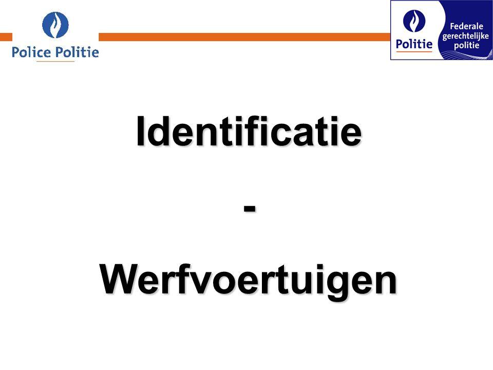 Identificatie-Werfvoertuigen
