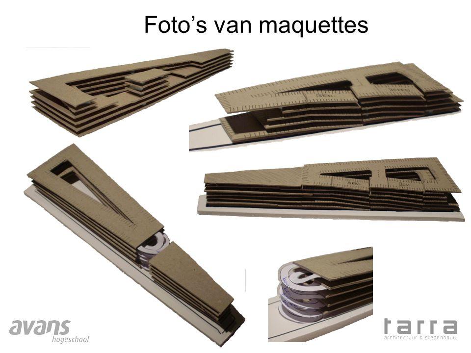 Foto's van maquettes