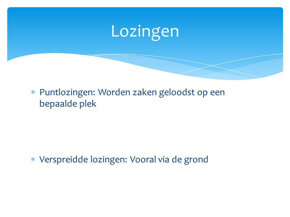  Dit komt allemaal in Nederland terecht.Het is ook nodig voor drinkwater.