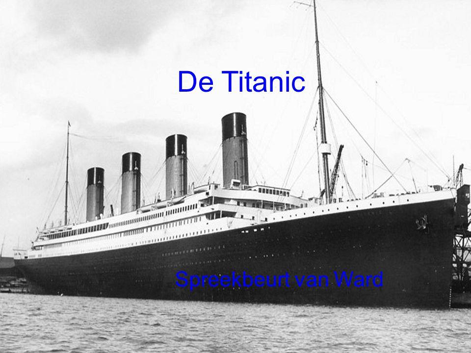 : Ward De Titanic Spreekbeurt van Ward