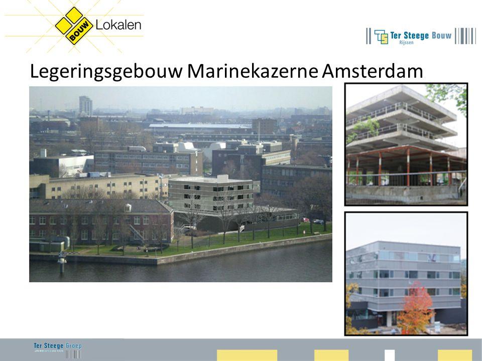 Legeringsgebouw Marinekazerne Amsterdam