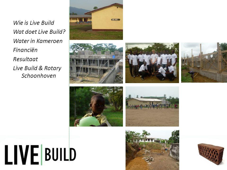 Resultaat • Terugkoppeling door middel van foto's en video's • Website centraal • Evaluaties en projectverslagen Wie is Live Build Wat doet Live Build.
