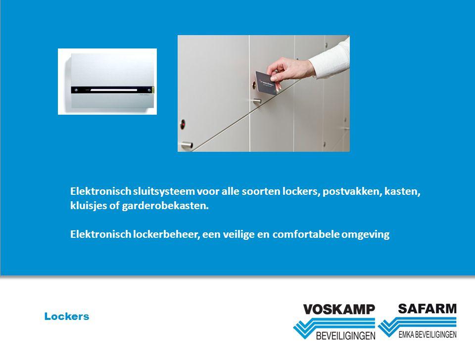 Lockers Elektronisch sluitsysteem voor alle soorten lockers, postvakken, kasten, kluisjes of garderobekasten. Elektronisch lockerbeheer, een veilige e
