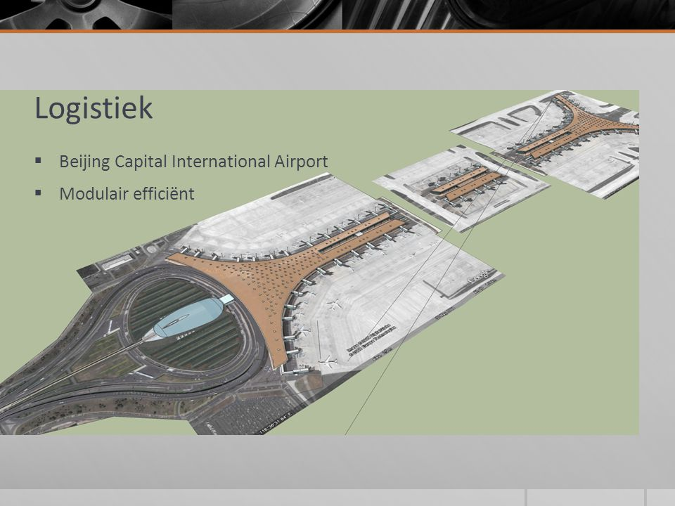 Logistiek  Beijing Capital International Airport  Modulair efficiënt