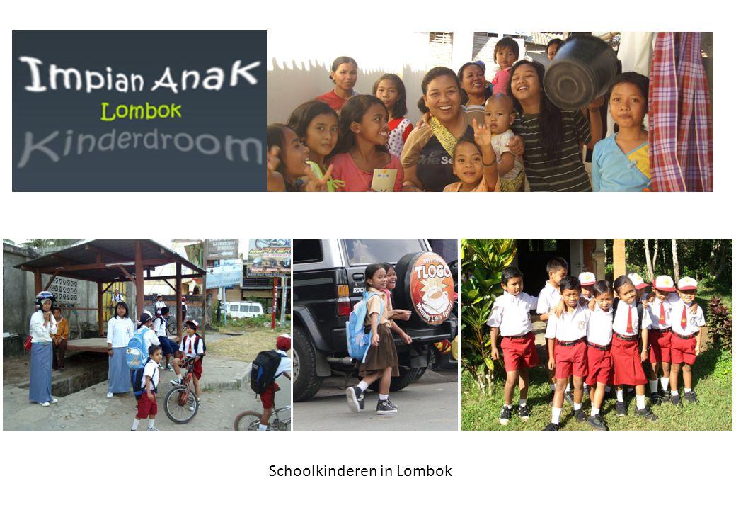Schoolkinderen in Lombok