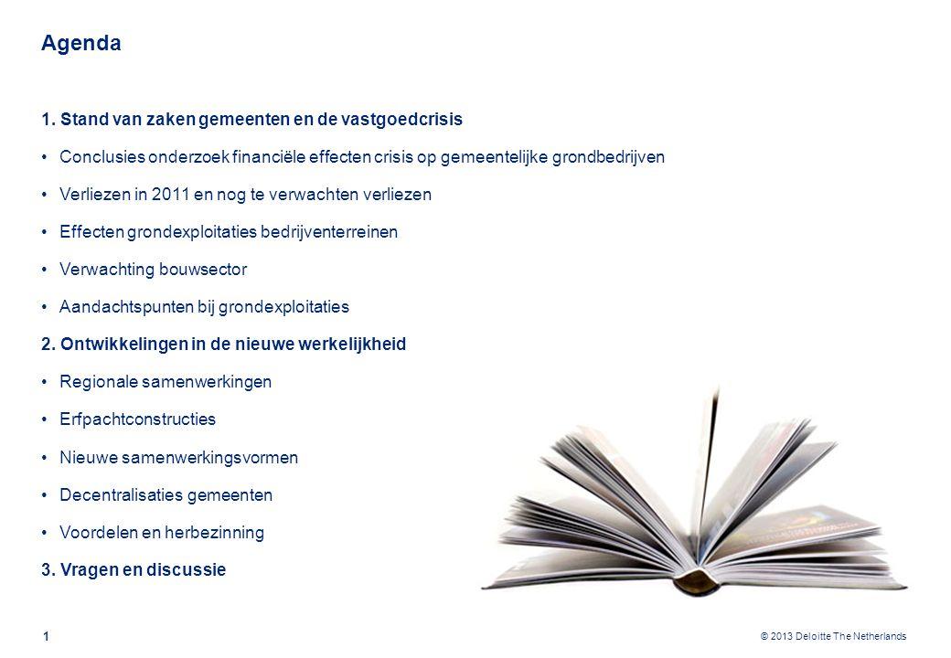 © 2013 Deloitte The Netherlands Agenda 1 1.
