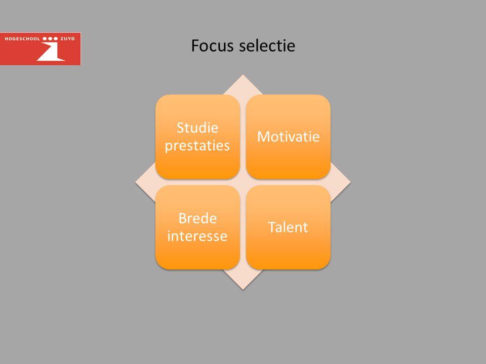 Focus selectie