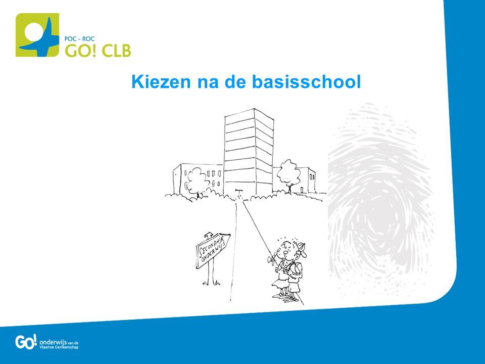 Agenda: Het CLB Hoe kiezen ? Het secundair onderwijs