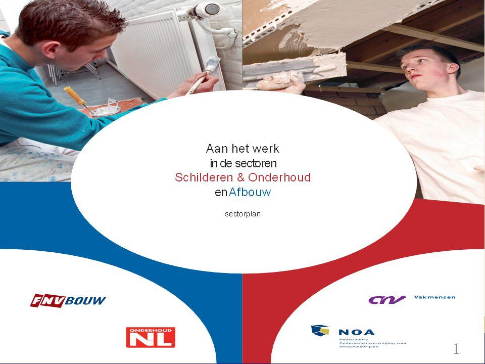 Aanleiding Sectorplan •Sociaal Akkoord Regering en sociale partners •Regeling cofinanciering minister SZW ( 12 aug.
