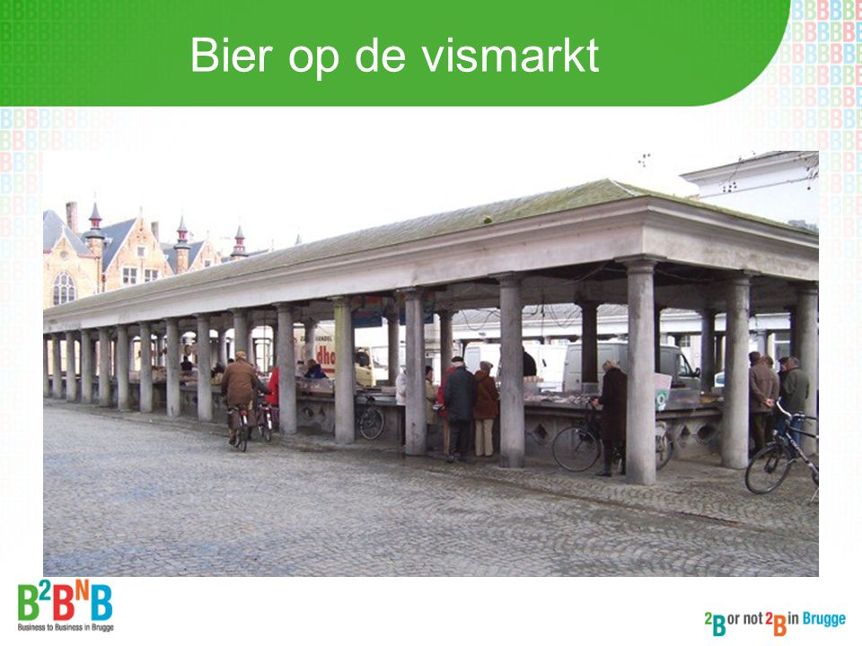 Bier op de vismarkt
