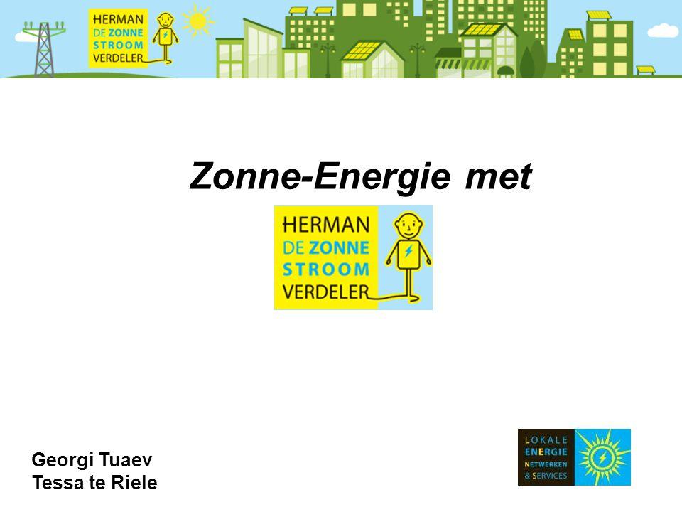 Zonne-Energie met Georgi Tuaev Tessa te Riele