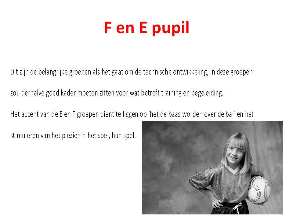 F en E pupil