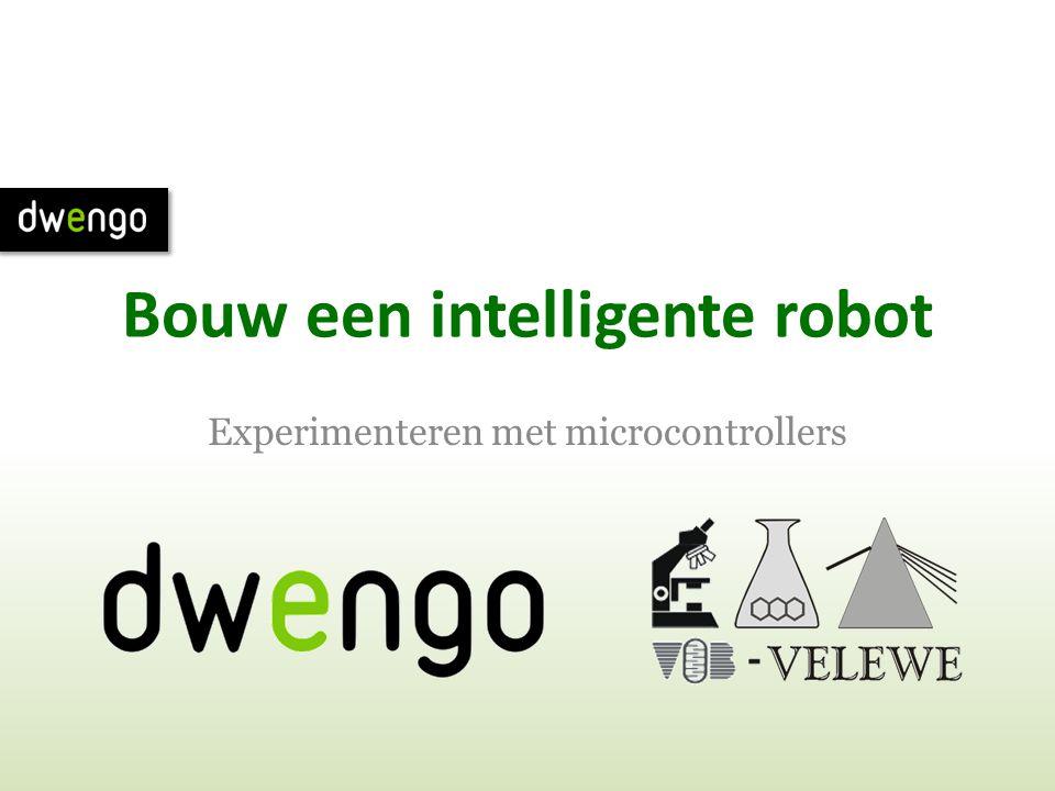 Bouw een intelligente robot Experimenteren met microcontrollers