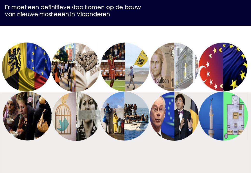Er moet een definitieve stop komen op de bouw van nieuwe moskeeën in Vlaanderen