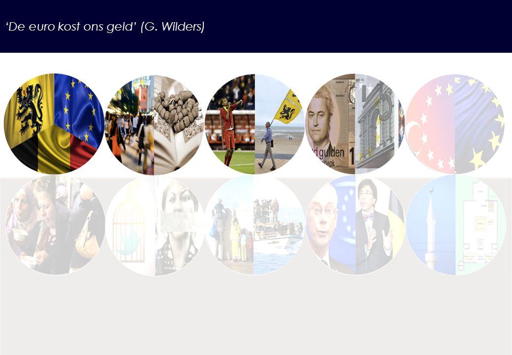 'De euro kost ons geld' (G. Wilders)