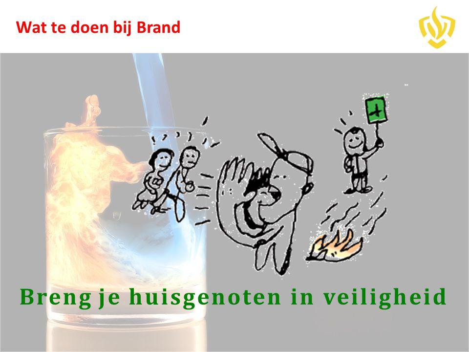 Breng je huisgenoten in veiligheid Wat te doen bij Brand