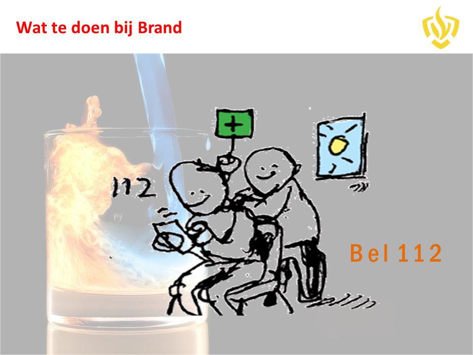 Bel 112 Wat te doen bij Brand