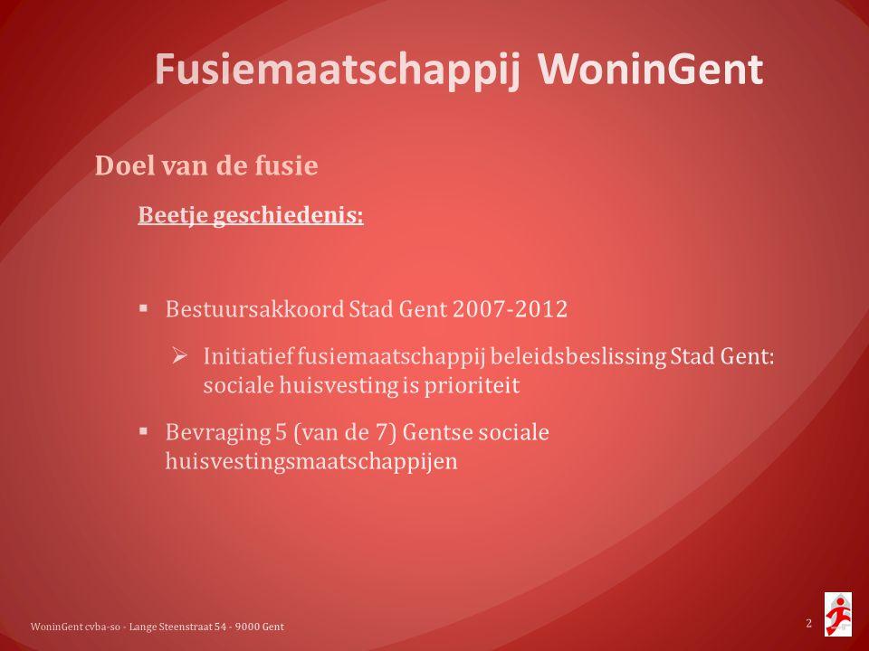 WoninGent cvba-so - Lange Steenstraat 54 - 9000 Gent 2