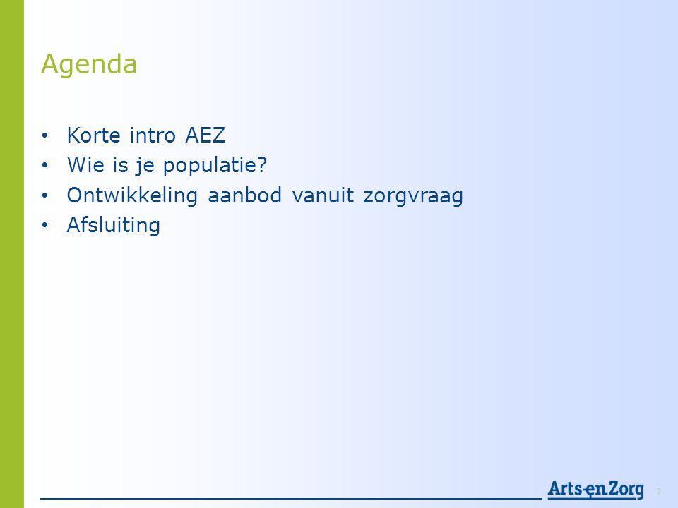 Voorbeeld populatieanalyse 2 regio's 13
