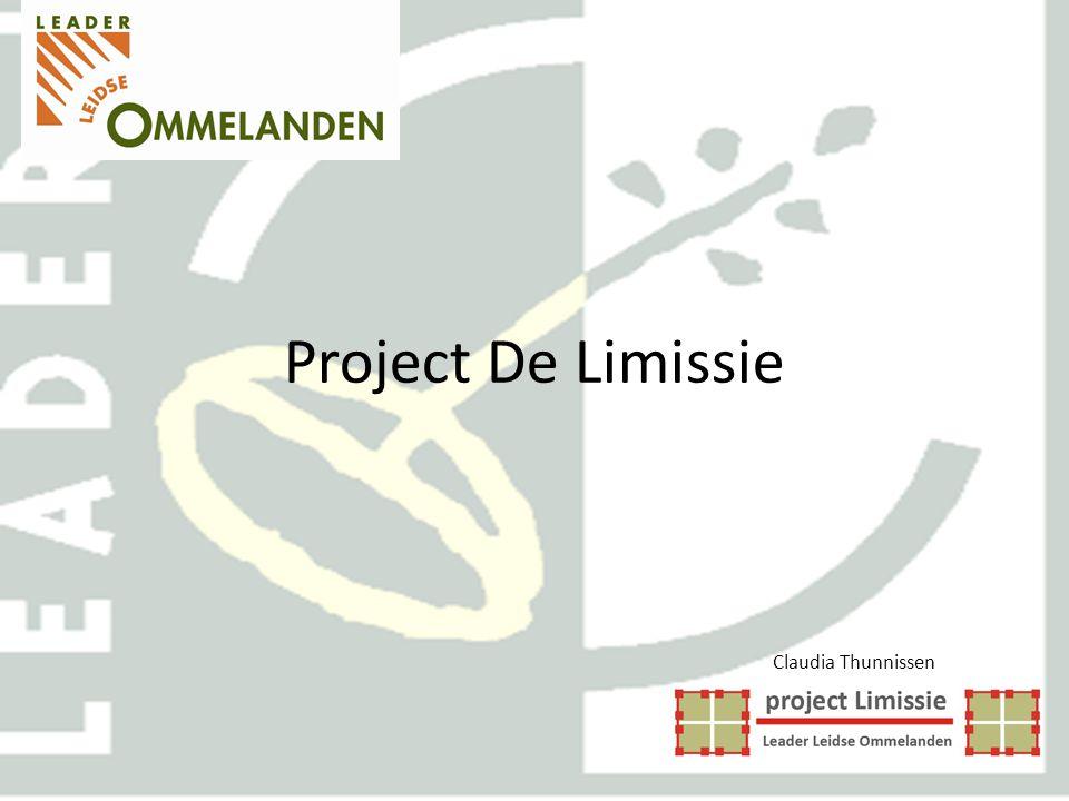 Project De Limissie Claudia Thunnissen Leader Leidse Ommelanden Werkgroep De Limissie