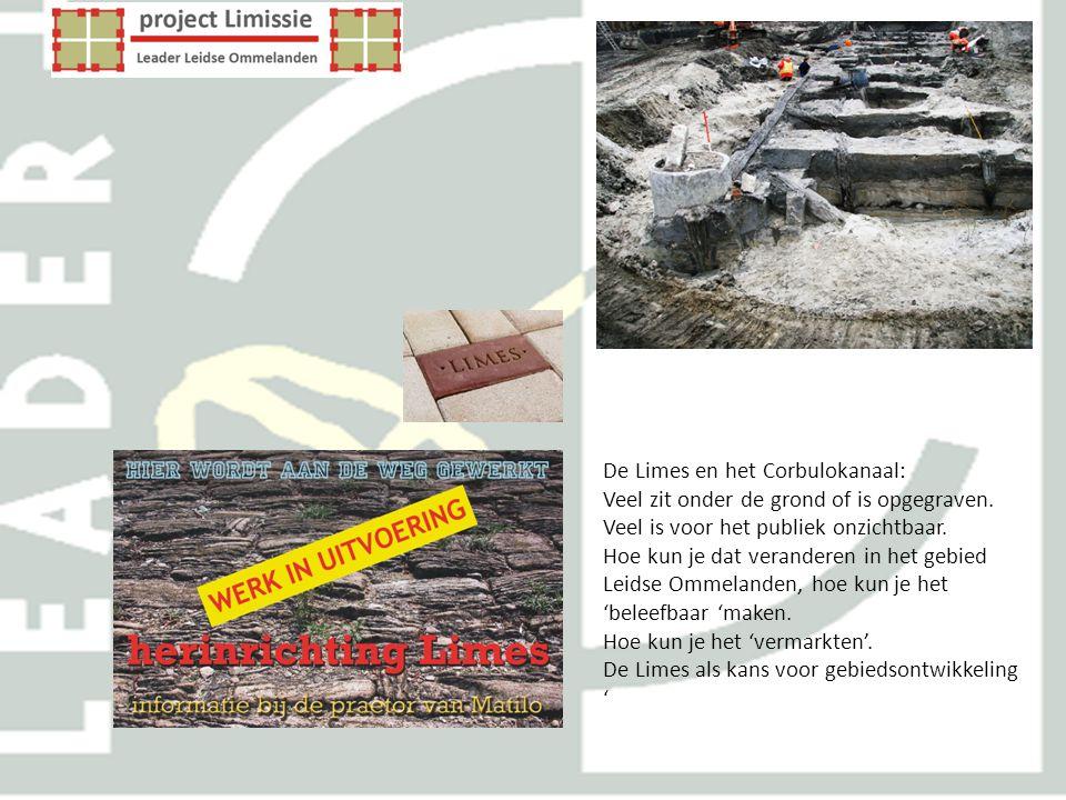 De Limes en het Corbulokanaal: Veel zit onder de grond of is opgegraven. Veel is voor het publiek onzichtbaar. Hoe kun je dat veranderen in het gebied