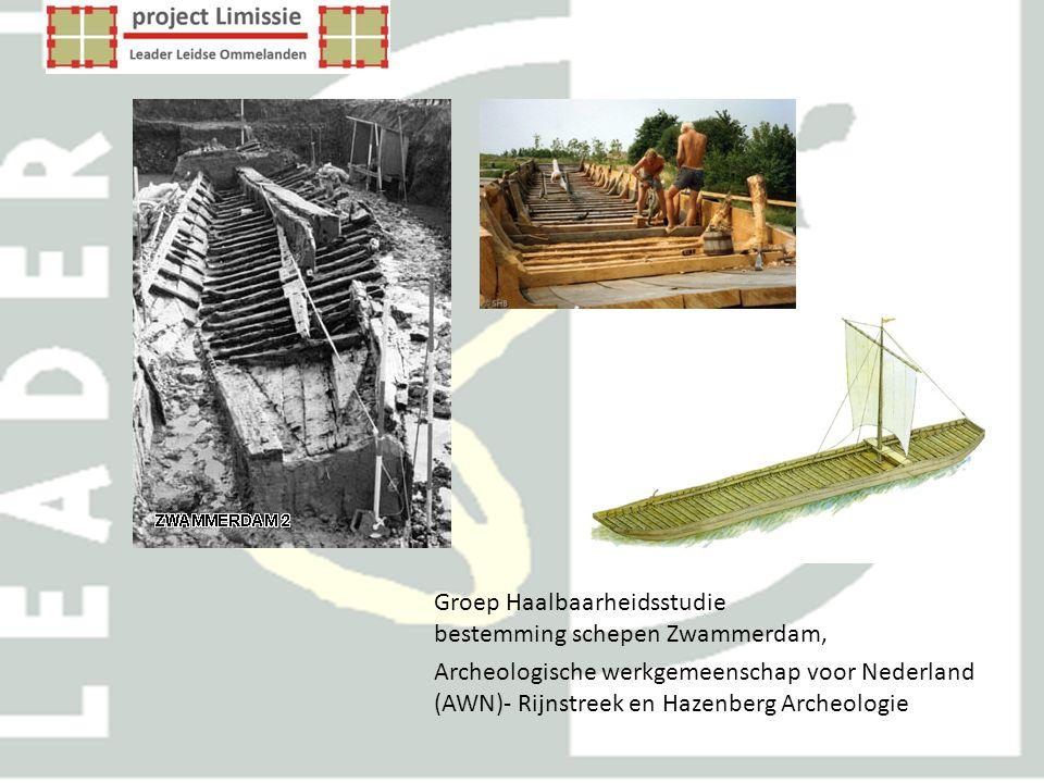 Groep Haalbaarheidsstudie bestemming schepen Zwammerdam, Archeologische werkgemeenschap voor Nederland (AWN)- Rijnstreek en Hazenberg Archeologie