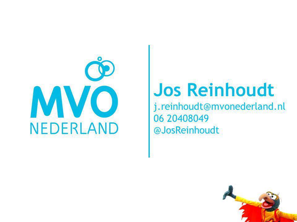Jos Reinhoudt j.reinhoudt@mvonederland.nl 06 20408049 @JosReinhoudt