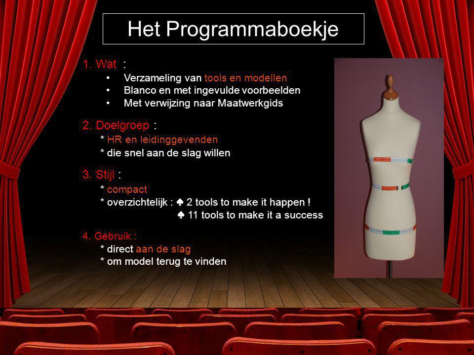 Het Programmaboekje 1.