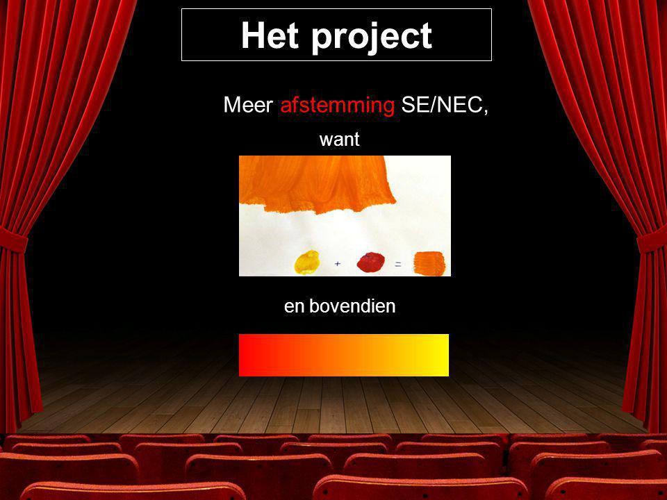 Het project 5.De stuurgroep : 1. SERR Gent en Rondom Gent 2.