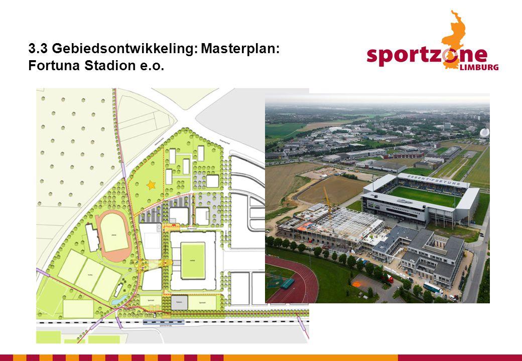 3.3 Gebiedsontwikkeling: Masterplan: Fortuna Stadion e.o.