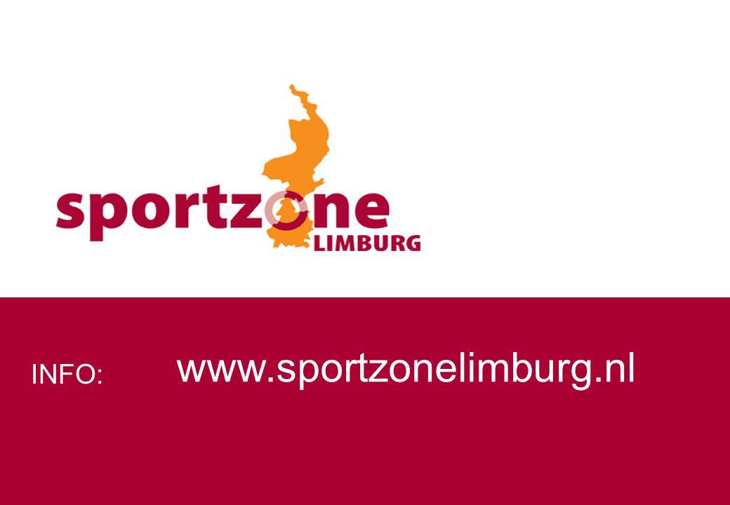 www.sportzonelimburg.nl INFO: