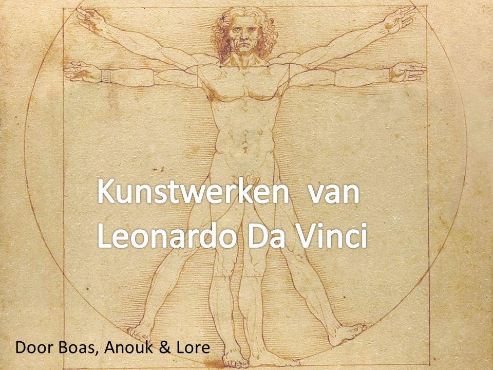 Weetje: Wist je dat Leonardo Da Vinci linkshandig was.
