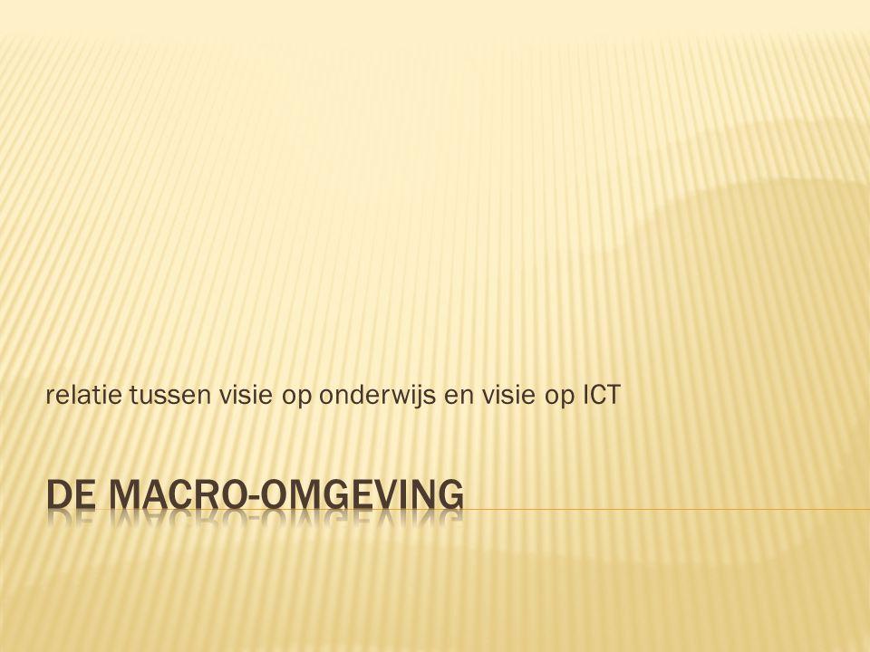 relatie tussen visie op onderwijs en visie op ICT