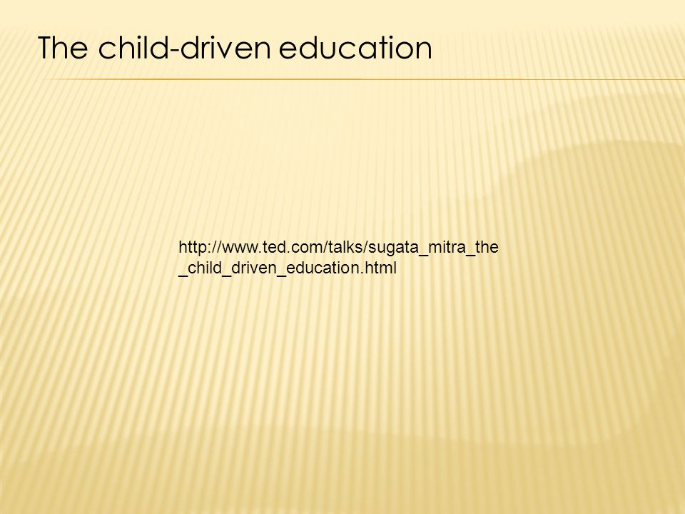 The child-driven education   _child_driven_education.html