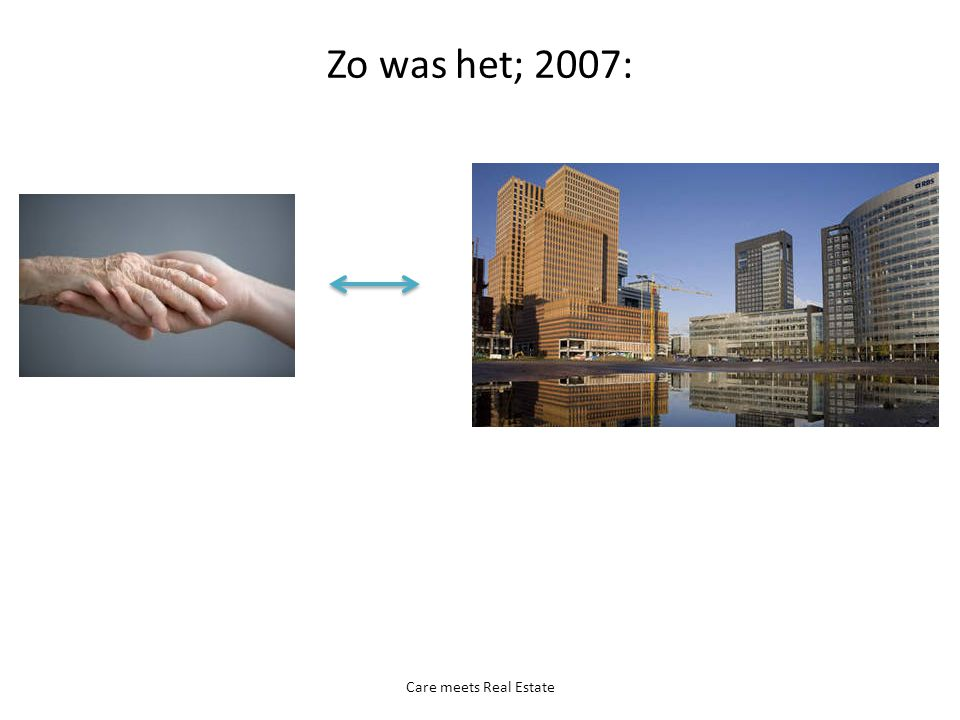 Zo was het; 2007: Care meets Real Estate