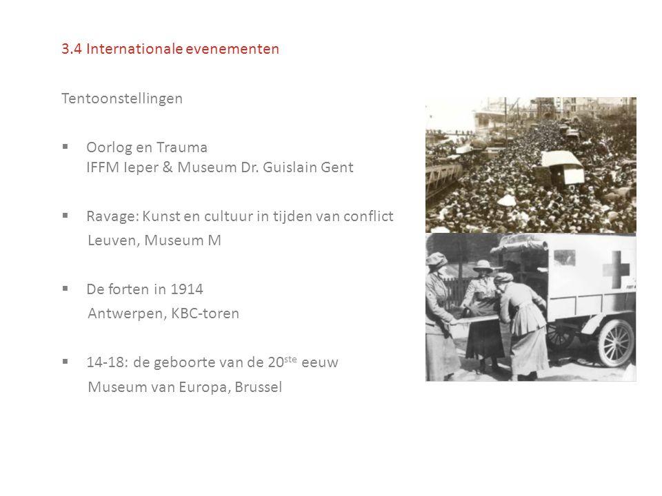 Tentoonstellingen  Oorlog en Trauma IFFM Ieper & Museum Dr.