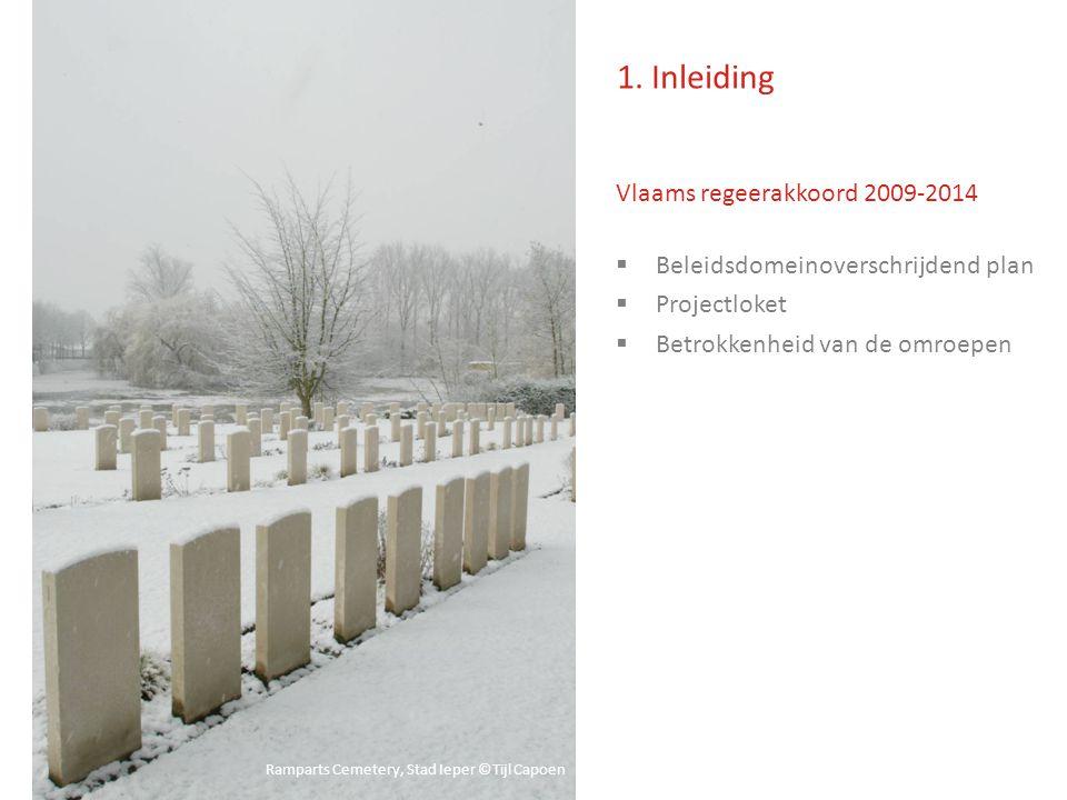 Vlaams regeerakkoord 2009-2014  Beleidsdomeinoverschrijdend plan  Projectloket  Betrokkenheid van de omroepen 1.