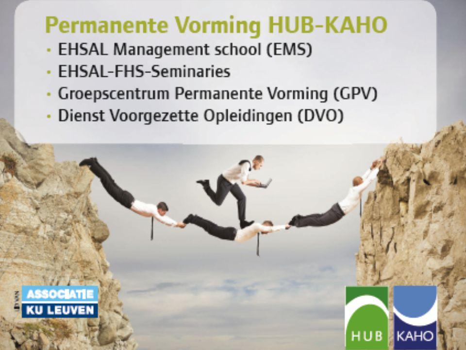 EHSAL-FHS-Seminaries • Meer dan 40 jaar organiseert EHSAL-FHS seminaries die aansluiten bij de brandende actualiteit op het vlak van fiscaliteit, financiële planning en ondernemingsrecht.
