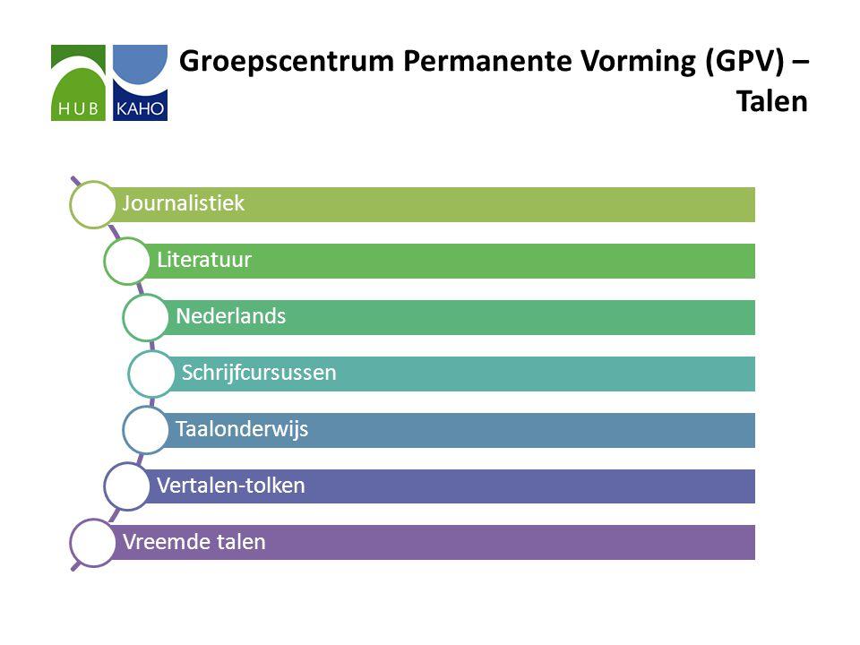 Groepscentrum Permanente Vorming (GPV) – Talen Journalistiek Literatuur Nederlands Schrijfcursussen Taalonderwijs Vertalen-tolken Vreemde talen