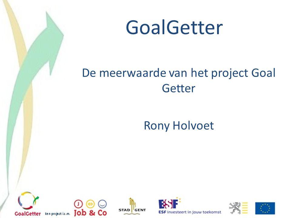 GoalGetter Sociale economie: een helikopterzicht Veronique Lingier