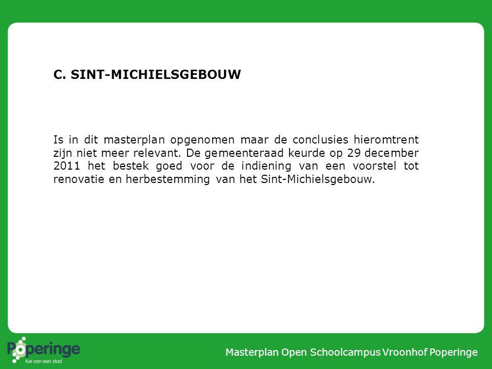 Masterplan Open Schoolcampus Vroonhof Poperinge 3.